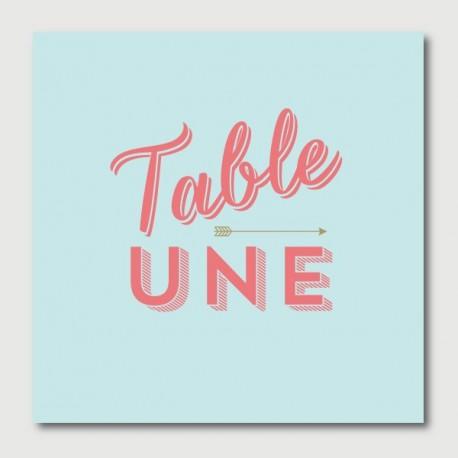 arthur table numbers