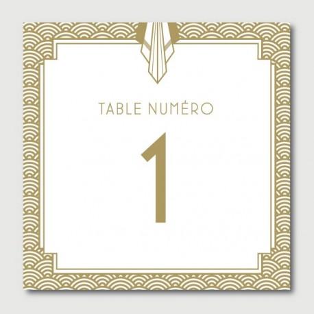 james numéro de tables