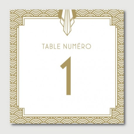 james table numbers