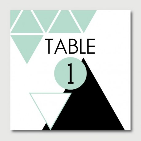 miles table numbers