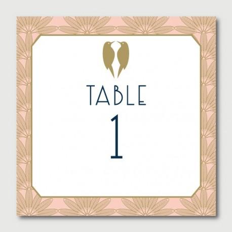 anatole numéro de tables