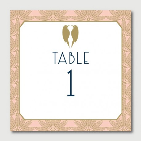 anatole table numbers