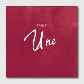 maurice numéro de tables