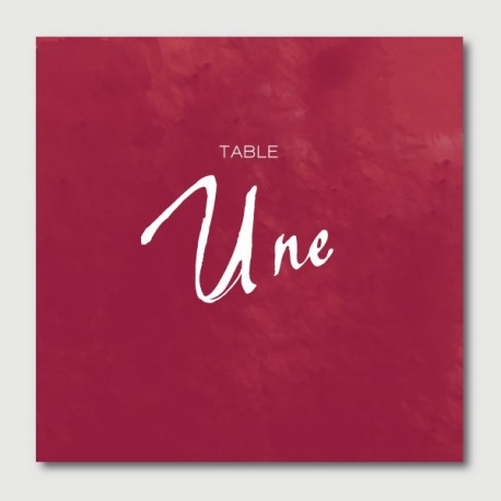 maurice table numbers