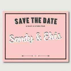 elvis save the date