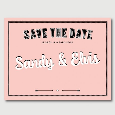 save the date elvis