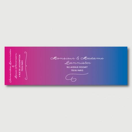 louie mailing label