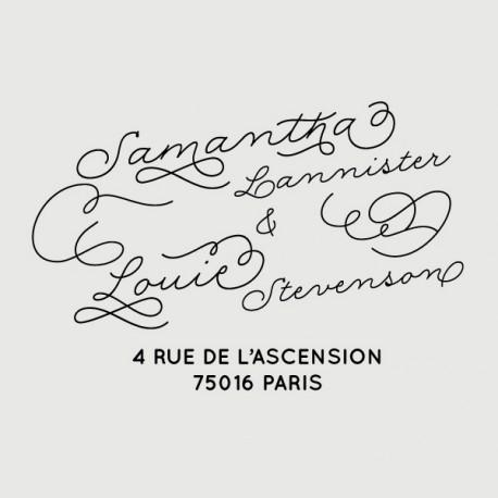 louie address stamp