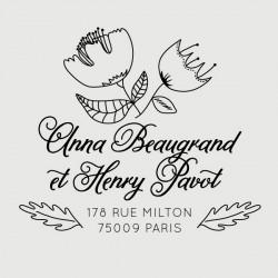 henry address stamp