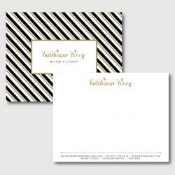balthazar carte de correspondance