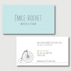 emile business cards