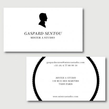 gaspard cartes de visite