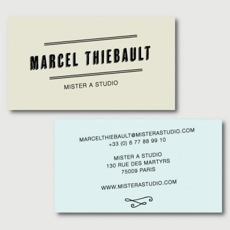 marcel cartes de visite