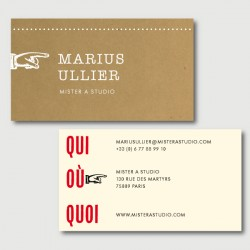 marius business cards