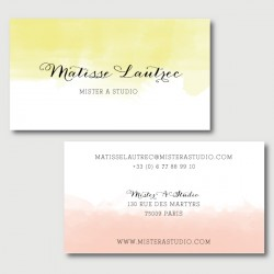 matisse business cards