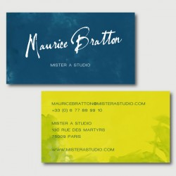 maurice business cards