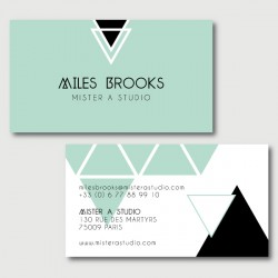 miles business cards