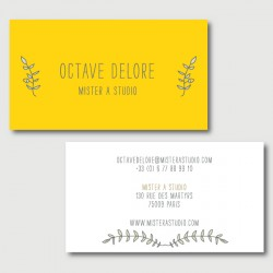 octave business cards