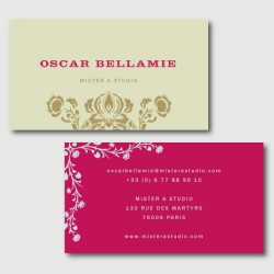 oscar business cards