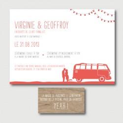 Invitation Virginie