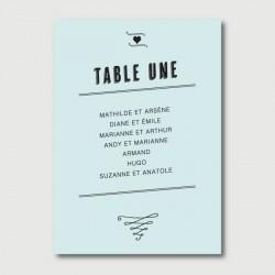 marcel plan de table