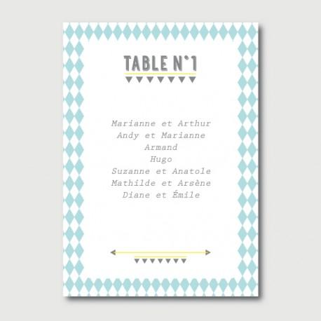 noa plan de table
