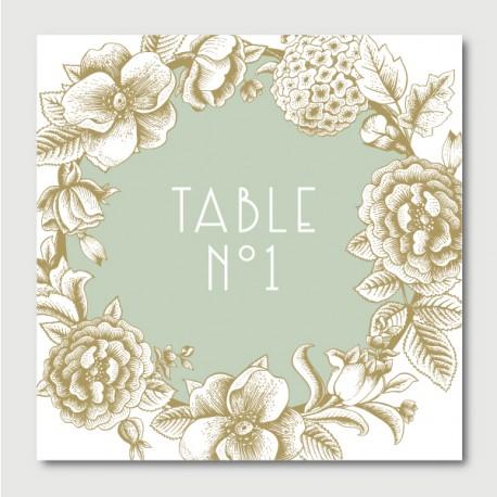 Otto numéro de tables