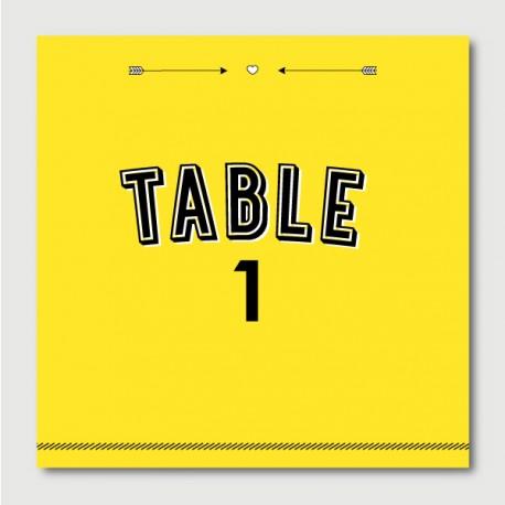 Elvis numéro de tables