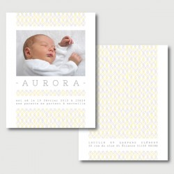 Aurora baby announcement