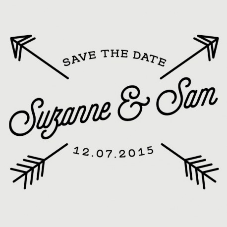 sam save the date stamp