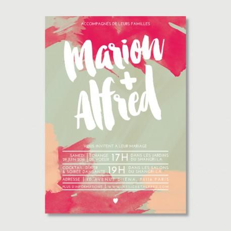 invitation Alfred