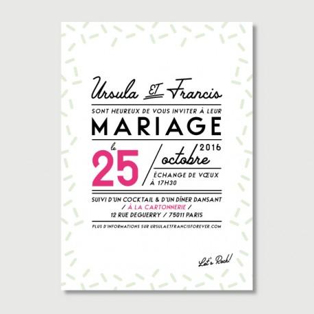 invitation francis