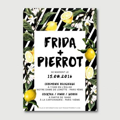 invitation pierrot