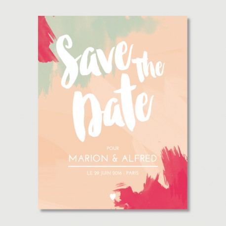 save the date alfred