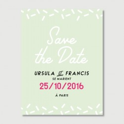 francis save the date