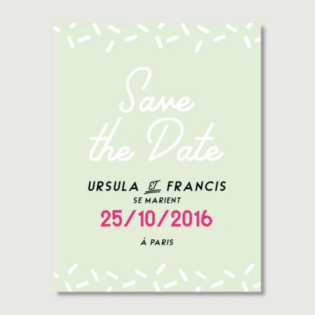 save the date francis