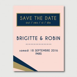 save the date robin