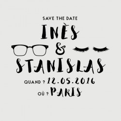 tampon save the date stanislas