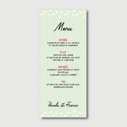 francis menu