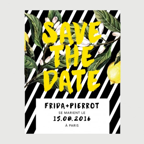 save the date pierrot