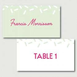 francis place cards