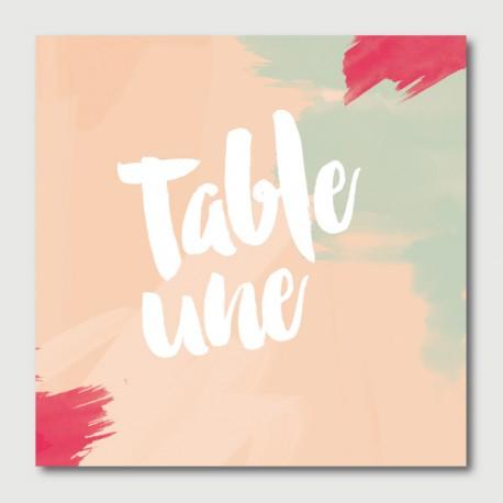 alfred numéro de tables