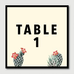 jeremiah table numbers