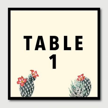 robin table numbers