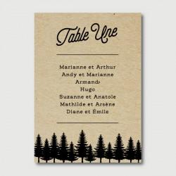 sam plan de table