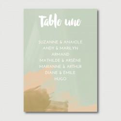 alfred plan de table