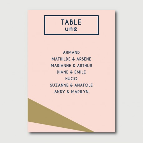 robin plan de table