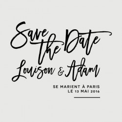 adam save the date stamp