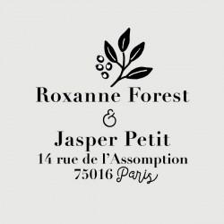 jasper adress stamp