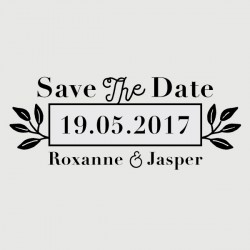jasper save the date stamp